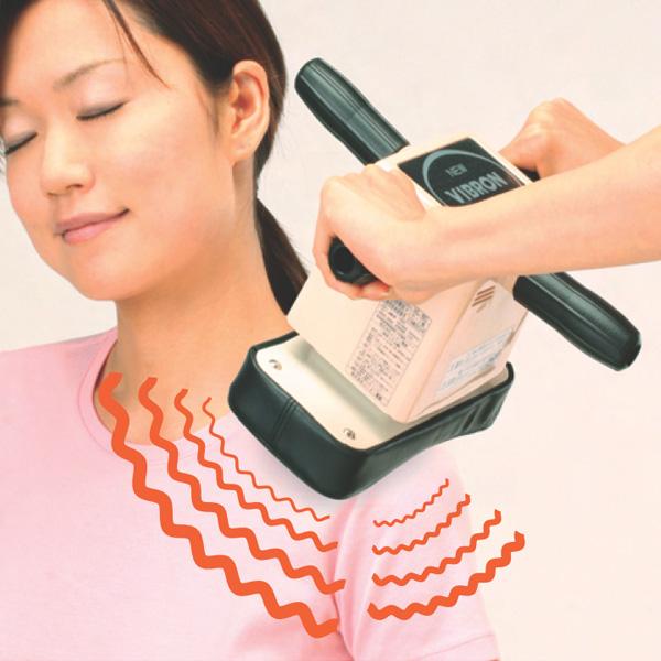 理髪店の サービス でもおなじみの強烈ブルブル あの快感 ふるさと割 家庭用電気マッサージ器 好評受付中 ニュービブロン VL-80