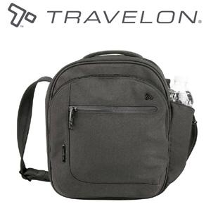 トラベロン社セーフティアーバンツアーバッグ 43102/グレー/海外旅行対応盗難防止トラベルショルダーバッグ