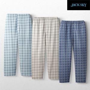 JACK SKY/ジャック スカイ 紳士パジャマパンツ3色組AS-0008