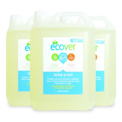 エコベール 食器用洗剤カモミール 5L × 3個《あす楽》《送料無料》