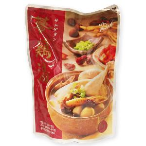 ご家庭で手軽に本格サムゲタン! マッスンブ サムゲタン 1kg [オーバーシーズ]【参鶏湯 サンゲタン 韓国料理】