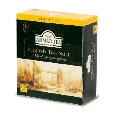 紅茶 クラシックティー AHMAD TEA インド スリランカ ケニア マラウィ タンザニア English Tea 最大2000円OFFクーポン SS限定 アーマッドティー NO.1 新作通販 気質アップ 100袋 富永貿易 2gティーバッグ ティーバッグ × イングリッシュティー