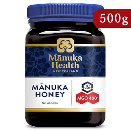 《送料無料》富永貿易 マヌカヘルス マヌカハニー MGO400+ / UMF13+ 500g 正規輸入品