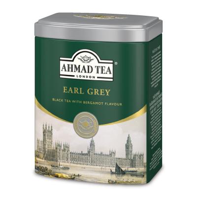 紅茶 缶 アールグレイ クラシックティー AHMAD TEA インド スリランカ Earl Grey tea リーフティー 【マラソン限定!最大2000円OFFクーポン】富永貿易 AHMAD TEA アーマッドティー 紅茶 アールグレイ 200gリーフ 缶