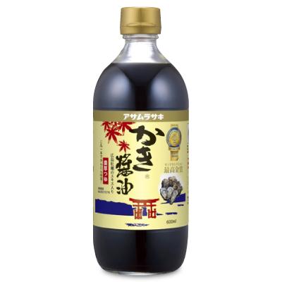 牡蠣しょうゆ つゆ しょうゆ マラソン限定 買取 新発売 最大2000円OFFクーポン かき醤油 アサムラサキ 600ml