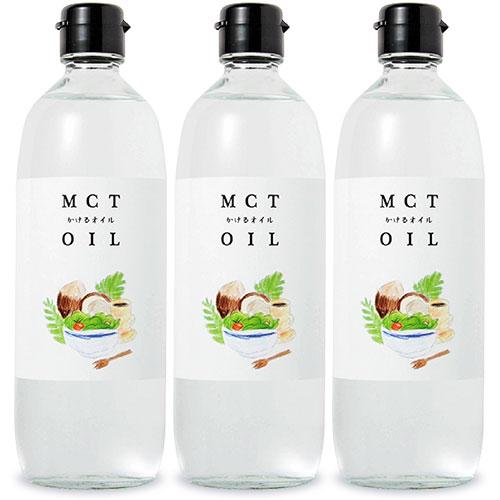 送料無料!/mctオイル MCT オイル 油 oil 中鎖脂肪酸 [ココナッツ由来100%/中鎖脂肪酸率100%(カプリル酸: 約60% 、カプリン酸: 約40%)] まとめ買い 《送料無料》フラットクラフト MCTオイル かけるオイル 大容量 470g × 3本 セット
