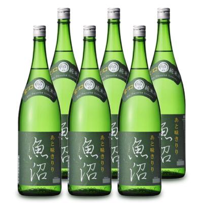 《送料無料》 白瀧酒造 辛口魚沼 純米 1800ml × 6本 ケース販売 《あす楽》