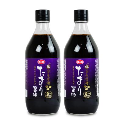 高級な 有機 有機JAS 国産 オーガニック たまり醤油 市場 たまりしょうゆ 海の精 国産大豆 煮物 天然醸造 国産有機たまりしょう油 2個 × お料理 500ml