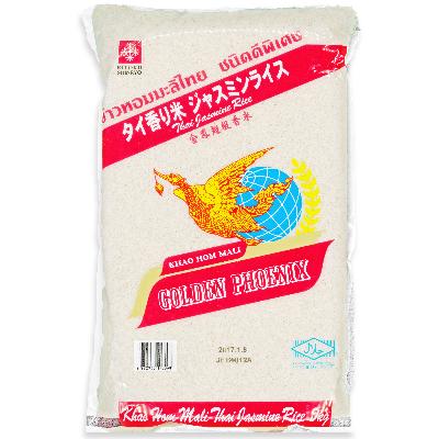 送料無料でお届けします カパオなどタイ料理はもちろん 炒飯 中華粥にも ゴールデンフェニックス タイ香り米 新色 ジャスミンライス ジャスミン米 《精米年月日:2020年7月11日》 タイ米 5kg お米 高級香り米
