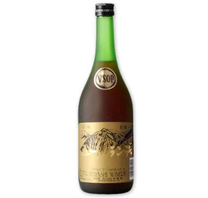 貴重な国産VSOPブランデー 熟成期間が長くブランデーの深みを感じられます 39ショップでポイント5倍 五一ブランデー VSOP 推奨 100%品質保証 720ml 林農園 お酒 無添加 桔梗ケ原 日本 信州 五一ワイン ブランデー 五一わいん