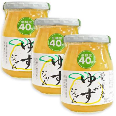 低糖度40度 砂糖と酸味料を使わずに仕上げました 伊豆フェルメンテ 愛媛産柚ジャム <セール&特集> 300g × ゆず 当店一番人気 ゆずジャム ジャム 3本