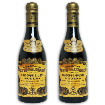 バルサミコ酢 10年 無添加 ブラウン 茶色 限定品 イタリア モデナ ビネガー ヴィネガー お酢 40%OFFの激安セール 酢 アチェート ジュゼッペ バルサミコ 250ml 2本 × ジュスティ 10年熟成 《送料無料》 茶