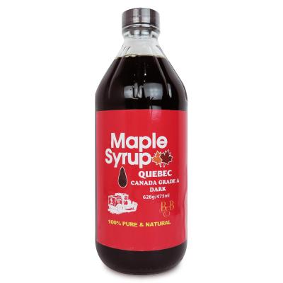 カナダ産のカナダグレードAのメープルシロップです カナダ ケベック カエデ アンバーグレード 樹液 628g BBメープルシロップ 最大2000円OFFクーポン SS限定 カナダグレードA 中古 ダークロバストテイスト 数量は多