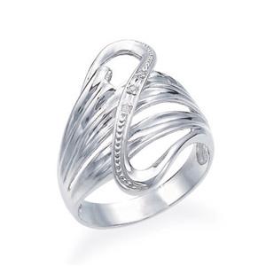 ポイント10倍キャンペーン ~5/25(月)23:59までK10ホワイトゴールドダイヤモンドリング