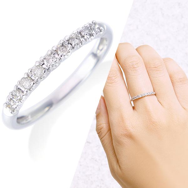 ホワイトゴールドダイヤモンドリング ダイヤモンド リング【合計0.2カラット前後】, シコクチュウオウシ:8b14b81e --- 1percent.jp