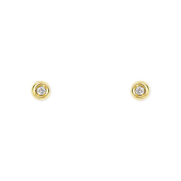ポイント10倍キャンペーン ~5/25(月)23:59まで【SALE】 K18イエローゴールドダイヤモンドピアス