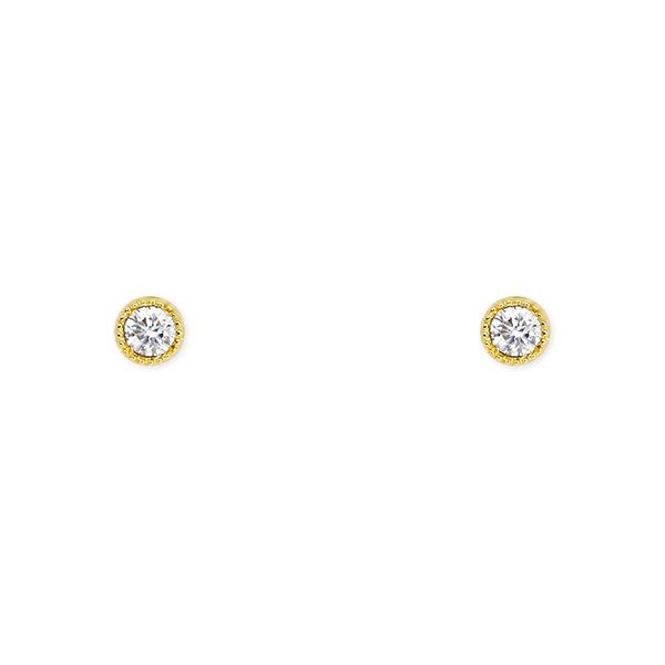 ポイント10倍キャンペーン ~5/18(月)9:59まで【SALE】K18イエローゴールドダイヤモンドピアス
