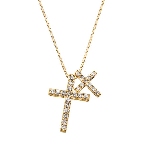 全品送料0円 K18イエローゴールドダイヤモンドネックレス, サンパック webshop 2891bc45