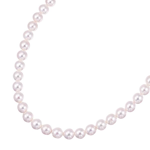 ポイント10倍キャンペーン ~9/14(月)9:59までアコヤ真珠ネックレス(6.5~7mm)