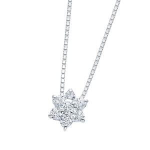 プラチナハート&キューピッドダイヤモンドネックレス ダイヤモンド ネックレス【専用スコープ・鑑別書付】