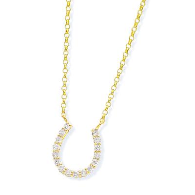 K18ダイヤモンドネックレス ダイヤモンド ネックレス【0.1カラット】