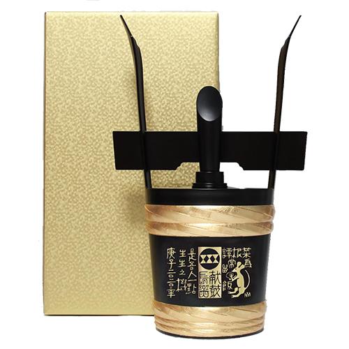 【小鼓】ブラック角樽 純米大吟醸 1800ml