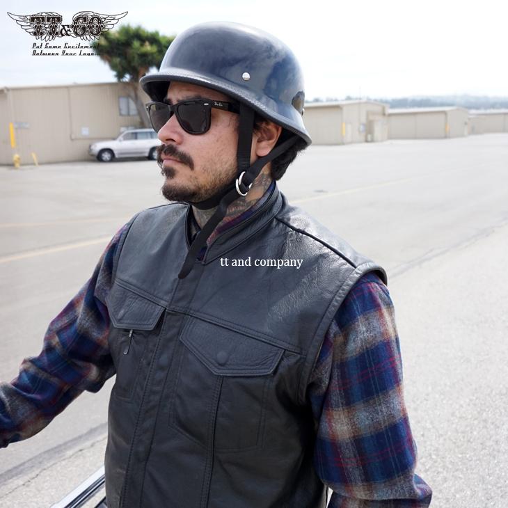 TT&CO.  USA German half helmet