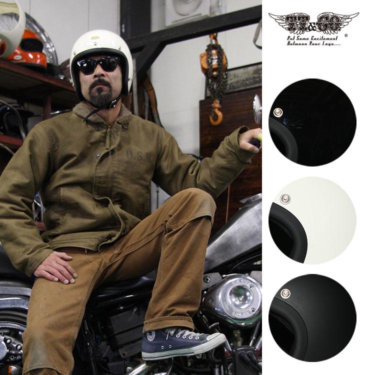 スーパーマグナム スモールジェットヘルメット 乗車用 SG/PSC/DOT規格品