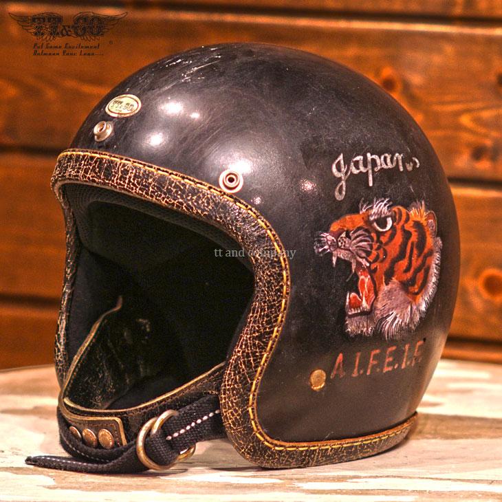スーパーマグナム ディストーション シリアス RS TORA TORA スモールジェットヘルメット 乗車用 SG/PSC/DOT規格品