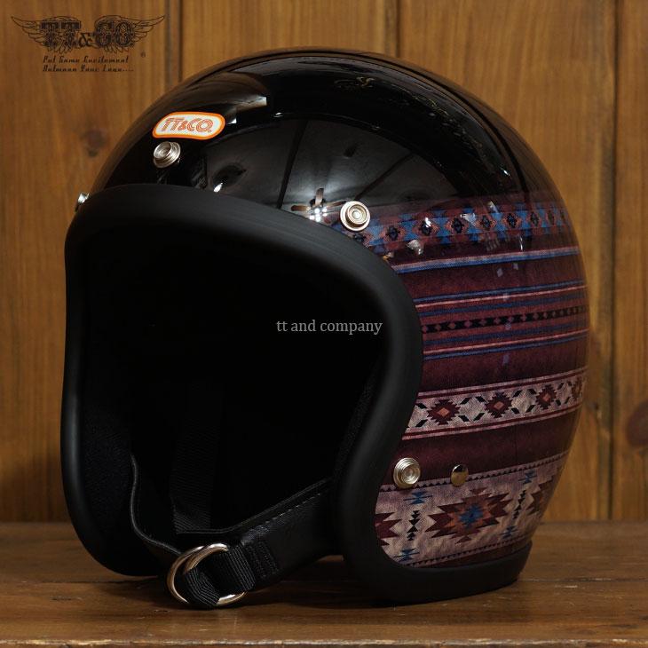 スーパーマグナム ネイティブラグ スモールジェットヘルメット 乗車用 SG/PSC/DOT規格品