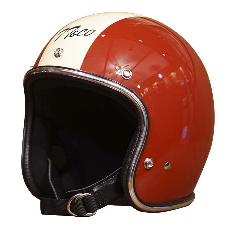 スーパーマグナム マグナムレーサー クロームトリム スモールジェットヘルメット 乗車用 SG/PSC/DOT規格品