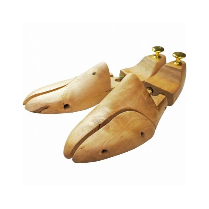 新発売 シューツリー 木製 メンズ シューキーパー ツインチューブ キングヤード 28-28.5cm 43 最安値に挑戦