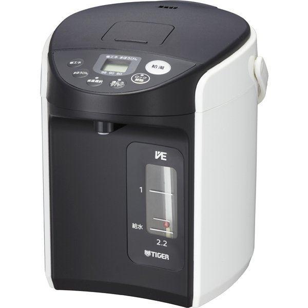 タイガー TIGER PIQ-A220-W VE電気まほうびん