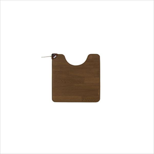 椙山紡織 Sugiyama SB-TM70-W ホットトイレマット 60×60cm ダークブラウン