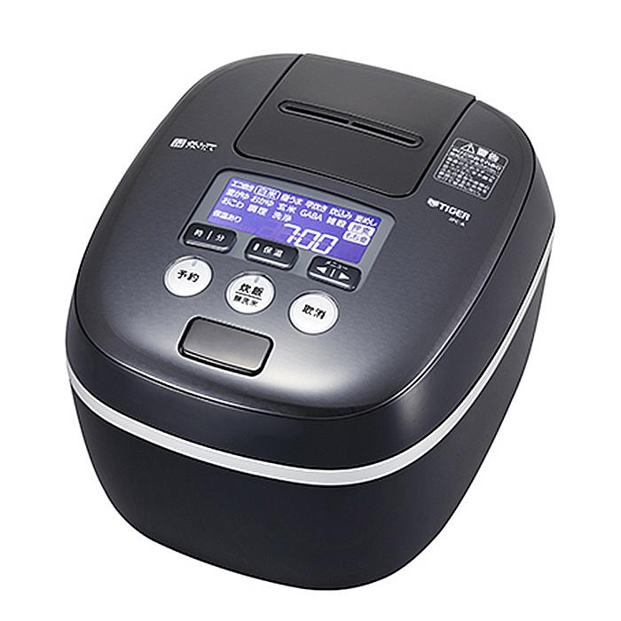 【送料無料】 タイガー TIGER JPC-A102-KE アーバンブラック 圧力IH炊飯器 5.5合炊き 炊きたて 360°デザイン 熱流&熱封土鍋コーティング
