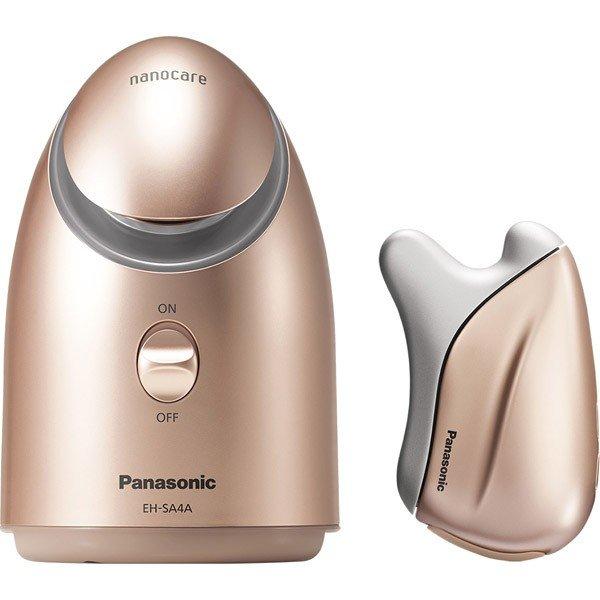 パナソニック(Panasonic) スチーマー 温感かっさ 秋冬限定セット EH-SA4PCM-GN ゴールド