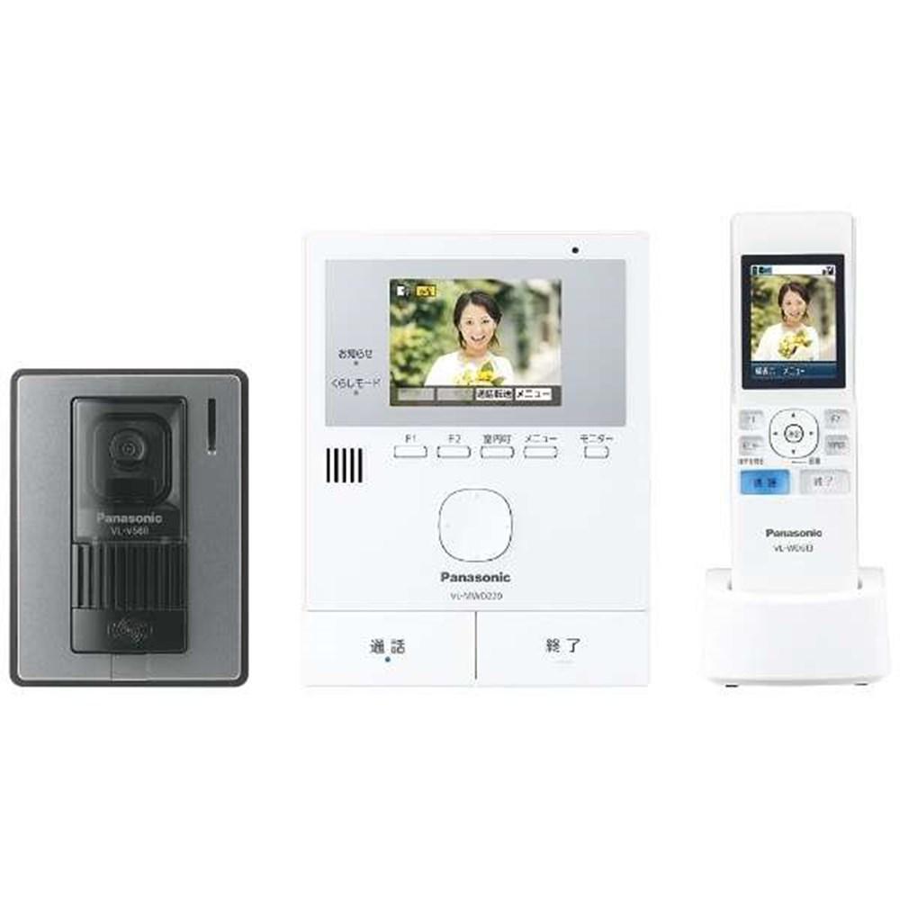 【送料無料】パナソニック インターホン・テレビドアホン VL-SWD220K