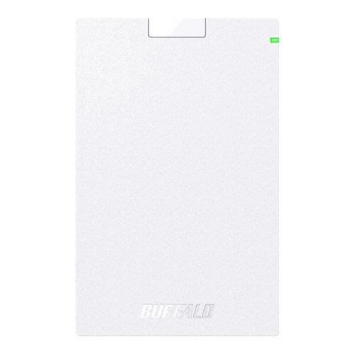 バッファロー USB3.2(Gen1)対応ポータブルHDD Type-Cケーブル付 1TB ホワイト