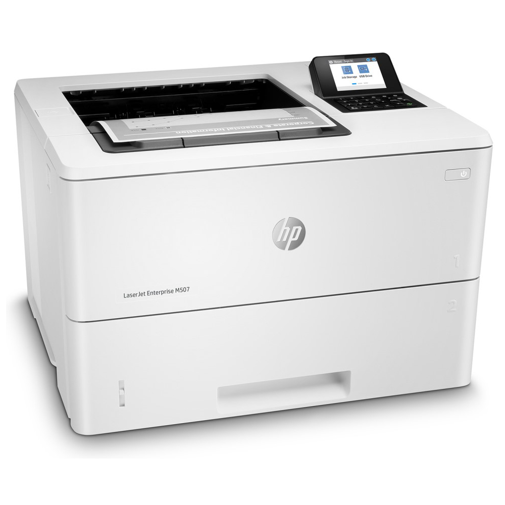 HP LaserJet Enterprise レーザープリンター M507dn(モノクロ/LAN/USB2.0/A4)
