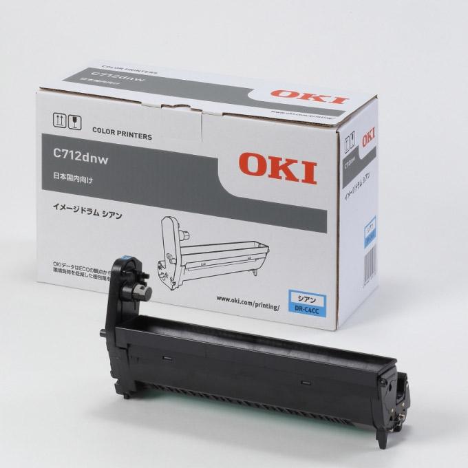 OKI [DR-C4CC] イメージドラム シアン (C712dnw)