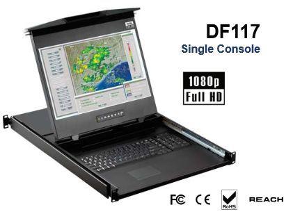 正規通販 オースティンヒューズ [DF117E] [DF117E] 1U 1U 17インチ フルHD 17インチ デュアルスライドコンソールドロアー, 京都市:106da06f --- online-cv.site