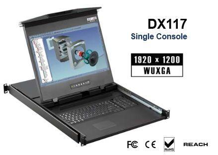 【最新入荷】 オースティンヒューズ [DX117E] [DX117E] 1U 1U 17インチ高解像度デュアルスライドLCDコンソールドロアー, LIFE MARKET 暮らし収納お洗濯:6c6dbf53 --- online-cv.site