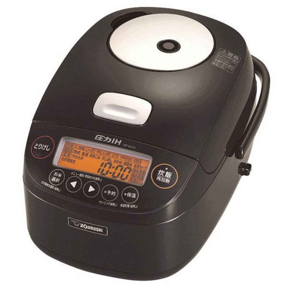 【送料無料】象印 NP-BJ10-BA 圧力IH炊飯ジャー 極め炊き 5.5合炊き ブラック