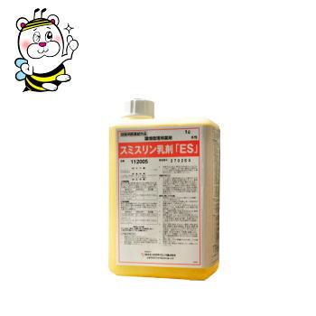 ゴキブリ駆除 殺虫剤 スミスリン乳剤ES 1L