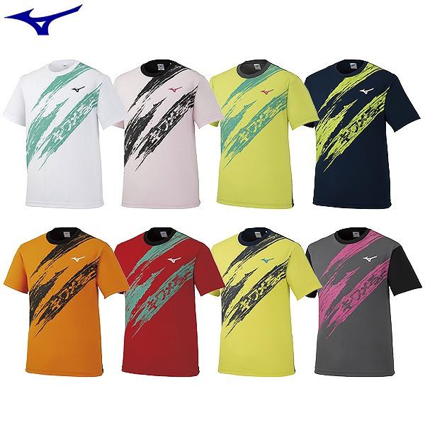 MIZUNO ミズノ 入荷予定 2020限定Tシャツ メンズ レディース 男女兼用 mizuno Tシャツ 捧呈 テニス 62JA0Z12