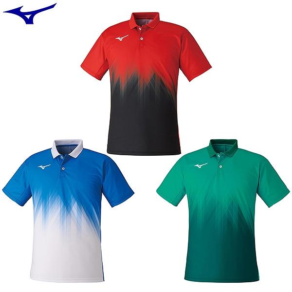 海外 MIZUNO ミズノ クイックドライゲームシャツ メンズ レディース 全国一律送料無料 mizuno ゲームウェア 男女兼用 62JA1002 テニス