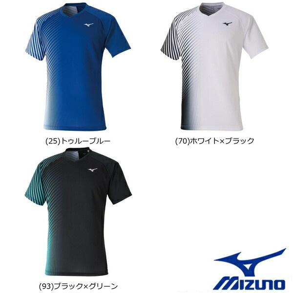 MIZUNO ミズノ ゲームシャツ ラケットスポーツ 爆安プライス 男女兼用 人気ショップが最安値挑戦 テニス 62JA0008 ウエア ソフトテニス ゲームウエア