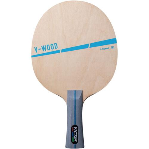 卓球 ラケット V-ウッド ラバー貼り付け無料 海外 格安店