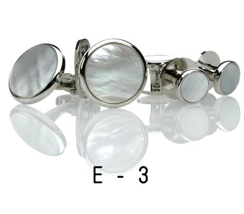 白蝶貝・カフス07.E-3(※カフスのみ) カフリンクス