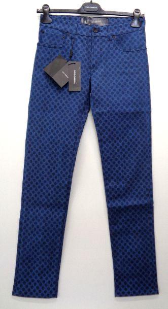 特別価格 ドルチェ ガッパーナ アパレル メンズ ジーンズ ドルチェガッバーナ 52 在庫一掃売り切りセール 1着でも送料無料 スリム ドット